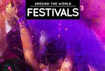 » Festivals Around The World / The list of festivals that I have been to, and the festivals that I'm aiming to attend — all around the world! See more on my blog: http://iAmAileen.com/category/activities/festivals/