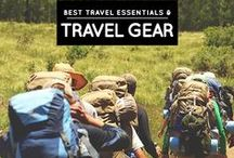 » Best Travel Gear & Essentials / My recommended travel gear and essentials! See more at: http://iamaileen.com/category/blogging/reviews/products/