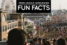 » Fun Facts from Locals Worldwide / I launched an exciting monthly series on my blog wherein locals from all over the world will be writing about 10 fun and interesting facts about their home country! See more here: http://iamaileen.com/category/travel/facts-from-locals-worldwide/