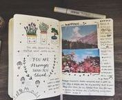 ♥ bullet journal & post ideas