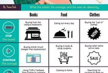 Tips on Saving & Budgeting / Student Discounts, Online Discounts & Deals, and Saving Tips & Tricks!