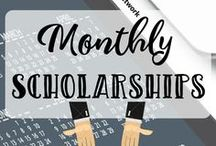 Scholarships by Month / #Scholarships due every month, from January to December! See more scholarships at https://www.tun.com/scholarships.