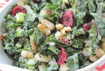 Recipes-Salads and Salsas / Plant based, vegan, salads and salsas