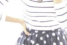 Stripes and polka dots <3