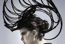 over the head / Art As A Headpiece