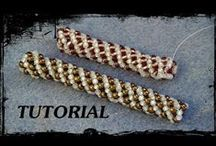 Tutoriales: Abalorios / Beads / Video tutorials with beads / by Eöwart