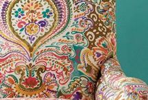 Zardosi / Our Zardosi Collection is inspired by decorative paisley patterns, tapestry and detailed embroidery in a palette of playful pastels with touches of vivid bright colour.