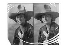 CowGirl PhotoGraphs / Historical photographs of cowgirls, doing cowgirl things / by Sonny .