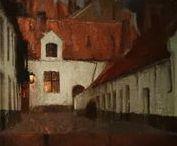 BAERTSOEN Albert - Détails / +++ MORE DETAILS OF ARTWORKS : https://www.flickr.com/photos/144232185@N03/collections