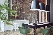 Exposed Brick {Bliss} / by Adore Your Place