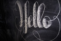 Chalk Board {Bliss} / by Adore Your Place