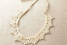 ╭☆ crochet jewellery patterns - uncinetto gioielli