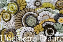 ╭☆ freeform crochet patterns and ideas - uncinetto libero / Most pictures are only for ideas or ispiration, but some of them include links to patterns or tutorials. So i hope these will be helpful to everyone who wants to try freeform crochet. Enjoy! - Dove possibile troverete i pattern per realizzare l'uncinetto libero.
