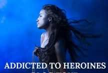 Addicted to Heroines Blog Tour / Join us in celebrating the awesome heroines of fantasy and thriller-fiction!