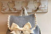 ╭☆ bag purse crochet & knit - borse uncinetto maglia