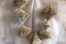 ╭☆ paper jewellery - gioielli di carta