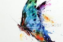 WaterColor Tattoo / Tattoo water color
