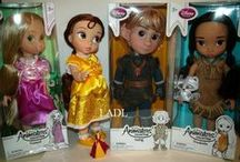 "Disney Princess + Pixar Dolls / Disney Princess dolls : Animator Collection, Toddler Dolls, 11"" dolls and PIXAR character dolls"