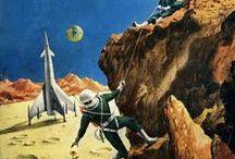 1950's - 1970's Sci-fi Art