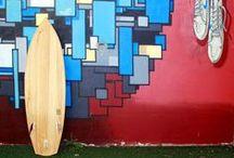 SHAPING SURFBOARDS / Surfboard design, shapes, fins, wooden surfboards...