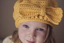 ╭☆ winter knit crochet hats / Beanie, beret, slouchy, cloche