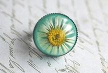 ╭☆ resin and glass jewellery