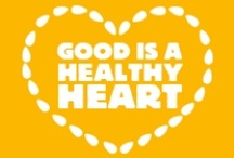 Good Is A Healthy Heart / Good is a healthy heart. Love your heart by the handful. / by Blue Diamond Almonds