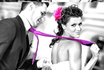 Black and White Photography With Color Effect. Color Splash. /