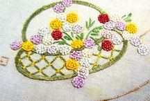 lovely stitched/embroidered items / by Carol Card