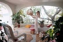 California Dream Home / I plan to live a happy life in a bohemian-hippie-inspired-california-dream-house...