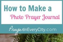 Photo Prayer Journal / Make a Photo Prayer Journal including free prayer journal printables. The 10 Prayers journal pages are written straight from the Word of God to help you pray scriptural prayers.