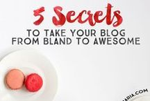Blog Tips / Tips to help me promote, improve and increase traffic on blog.