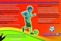 Derechos de los niños en la práctica del fútbol  / Derechos de los niños en la práctica del fútbol