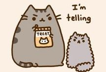 Pusheen The Kitty / And don't forget Stormy!❤️️❤️️