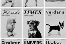 Graphic type / Typographic styles and exemplars
