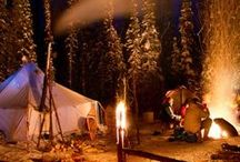 CAMPING / Ideas, photography, meals, facts etc.