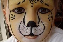 Face Painting / Design ideas etc, and bad examples, too!