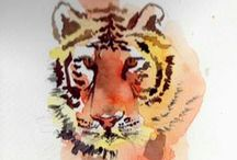 Aquarelles KJM / Watercolours we love