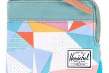 Surf Style Wallets / Casual and colourful surf style wallets.