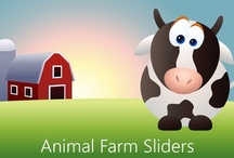 Animal Farm Sliders / Animal Farm Sliders is a free, ad-supported, Windows Store app that lets you play sliding puzzles with an animal farm theme at three levels of difficulty.