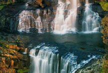 """Waterfalls / Photos of Waterfalls. If you would like an invite to pin to this board just comment """"add me"""" on one of my pins (Brenda Woods).  / by Brenda Woods"""