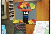 Displays / We have a variety of book displays for you to come check out