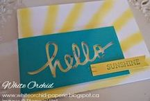 Stampin' Up! - Other Paper Pumpkin Ideas / Pins from other peoples Paper Pumpkins kit ideas
