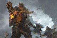 Dwarves / Dwarves Warriors and Clerics