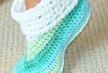 sokken en sloffen / socks and slippers