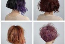 haircut, hairstyle