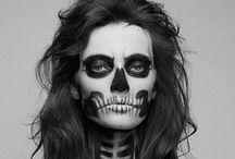 Halloween Makeup Inspiration / Beautiful makeup ideas for Halloween From Sugar Skulls to Zombies