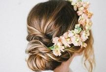 wedding inspiration - hair and makeup