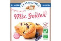 """Mix Goûter / Préparation en poudre sans gluten, sans lactose issue de l'agriculture biologique pour recettes de type """"pâte à cake"""". Mix multi-recettes pour des créations gourmandes et nutritives : marbrés - madeleines - cupcakes - muffins !"""