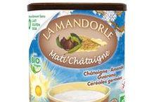 Mati'Châtaigne / Préparation instantanée, 100% végétal, naturellement sans lait ni gluten, sans soja, pour petit déjeuner à la châtaigne et céréales germées avec guarana et algues Lithothamne pour une collation encore plus nutritive